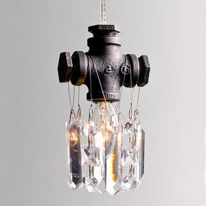 Michael Mchale Designs Industrial Chic Chandeliers Tribeca Single Bulb Chandelier 176 To 135 23 With Images Single Pendant Lighting Industrial Chandelier Light