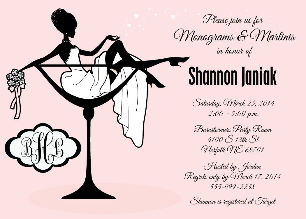 Wedding Shower Invitation Templates For Microsoft Word Digital