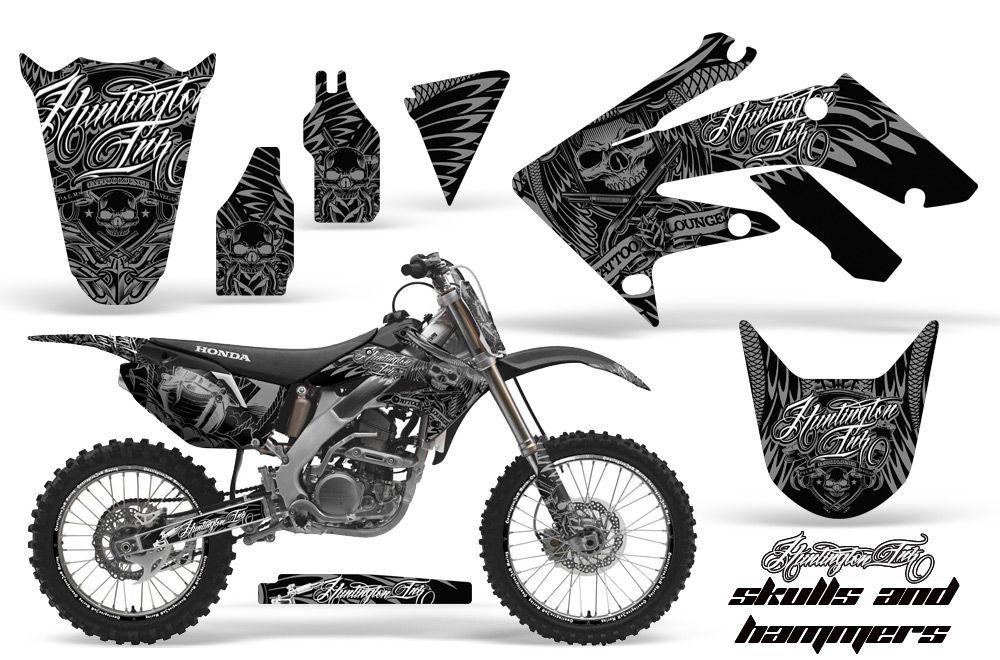 KLX Graphics Kit Kawasaki Motocross Graphic Sticker - Decal graphics for dirt bikes