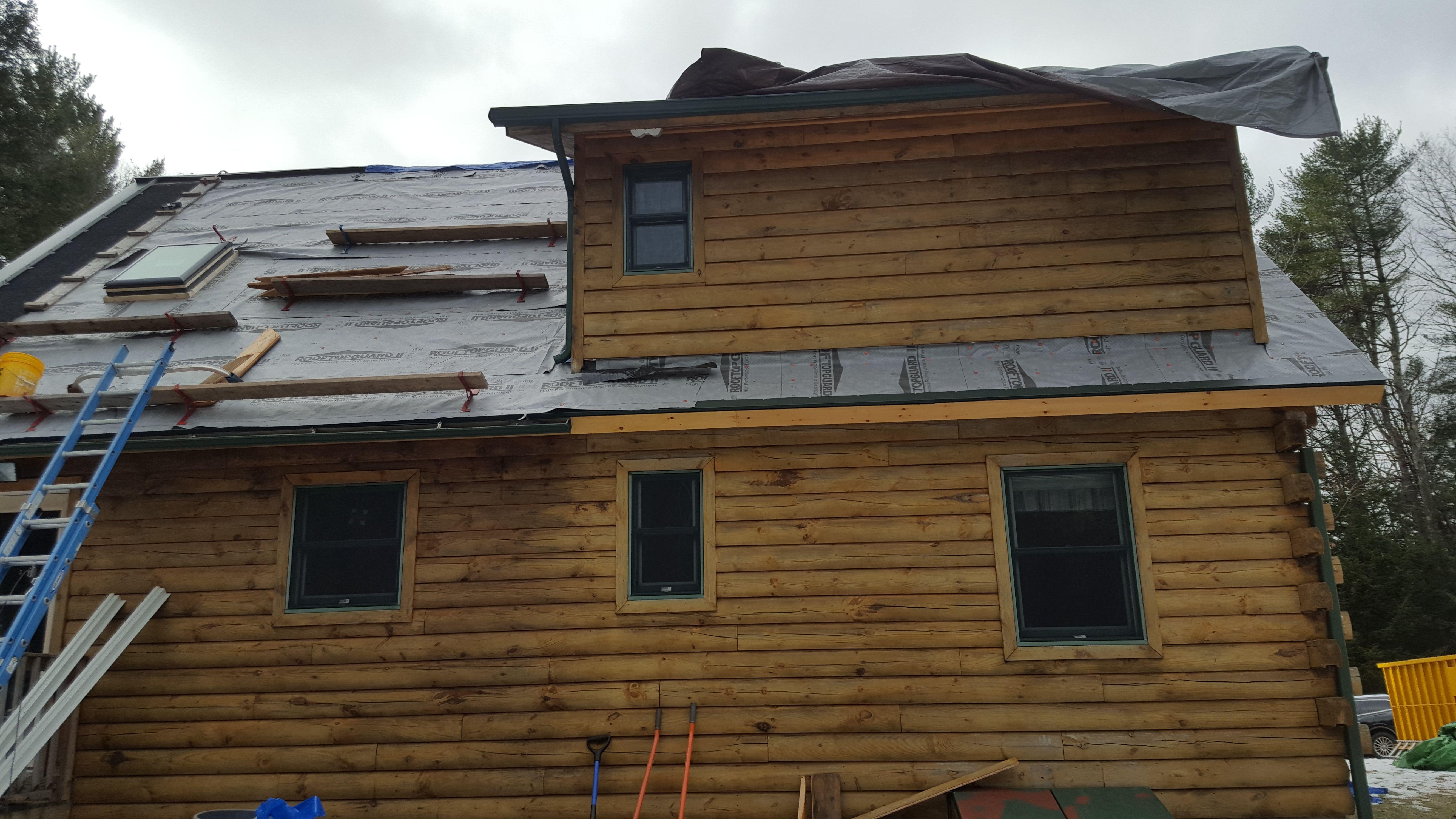 Best Technical Bulletin 55 Log Homes Log Homes Metal Roof 640 x 480