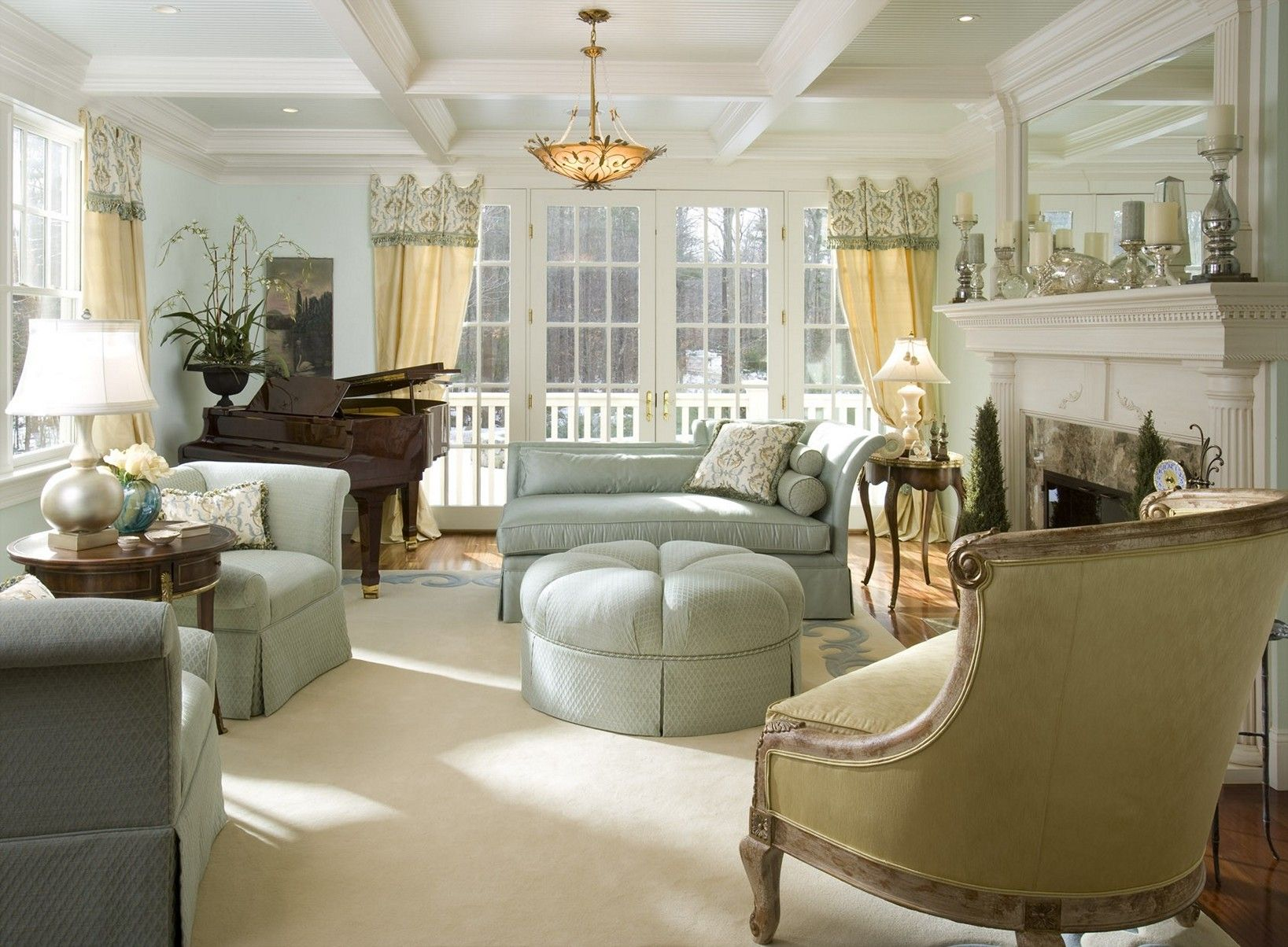 Bon Room · French Country Living Room Design