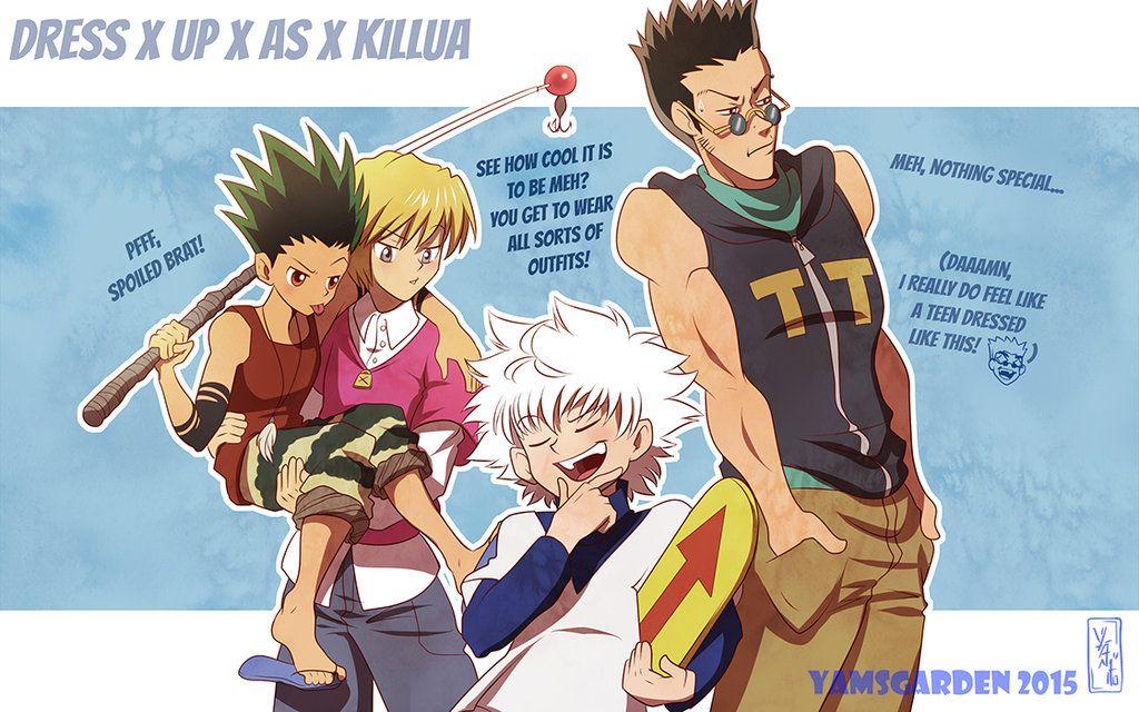 A vestirse como Killua!!!