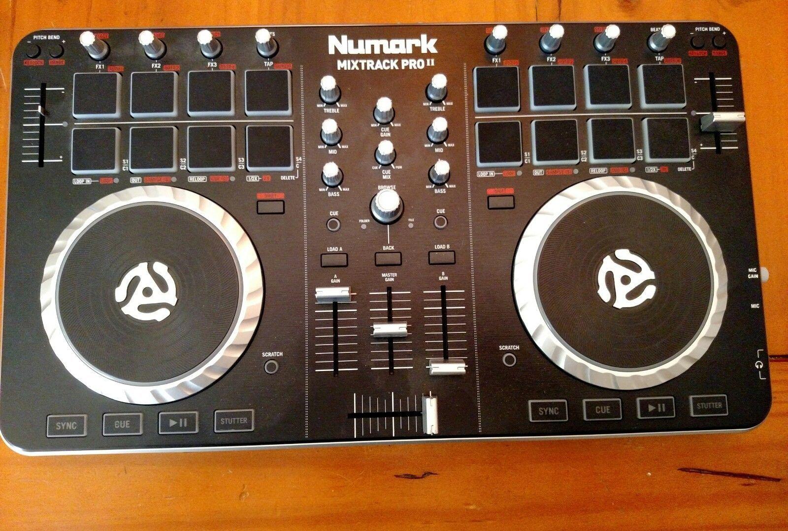 Numark Mixtrack Pro Ii Dj Controller With Audio I O on numark mixtrack pro scratching, numark mixtrack vs mixtrack pro, numark mixtrack pro pitch bend, numark mixtrack pro software,