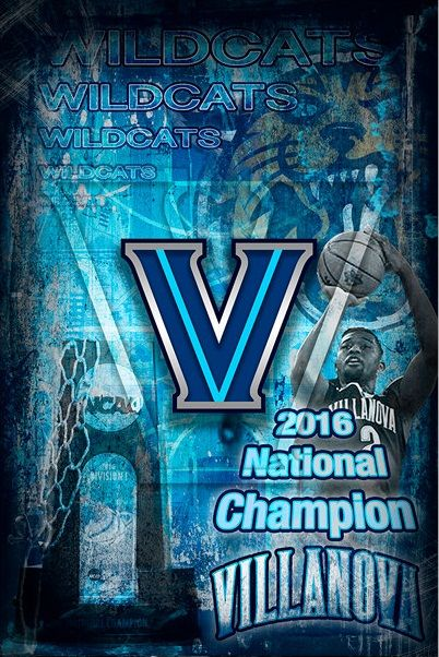 Villanova Wildcats Villanova Wildcats Ncaa Champion Villanova