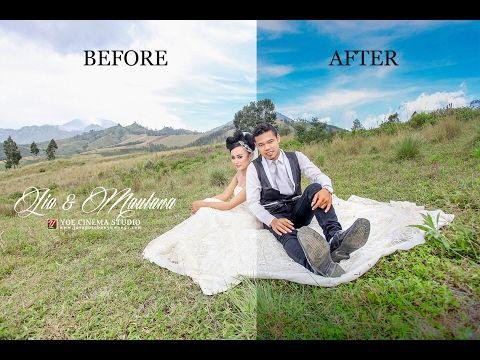 Photoshop wedding photography