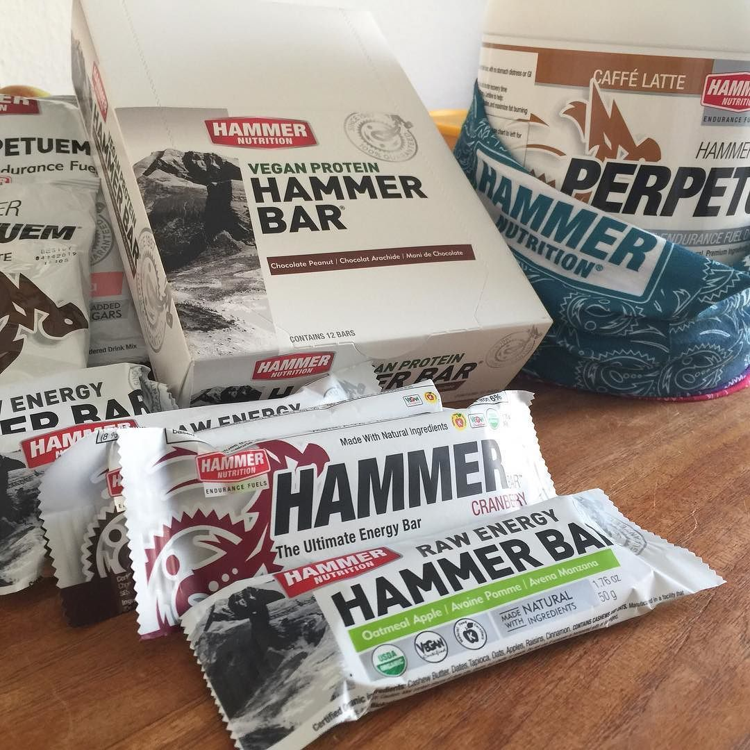 New supply arrived!   #howihammer #FuelRightFeelGreat #rightfuel #protein #hammerbar #perpetuem #timetotrain #stayfueled