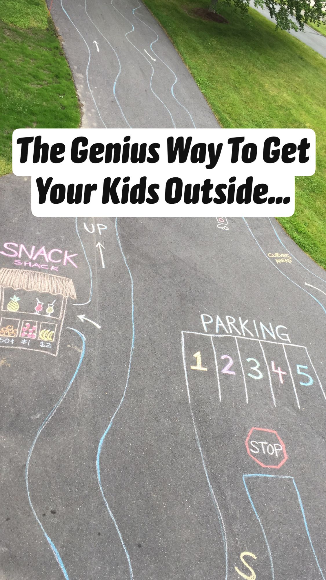 The Genius Way To Get Your Kids Outside...