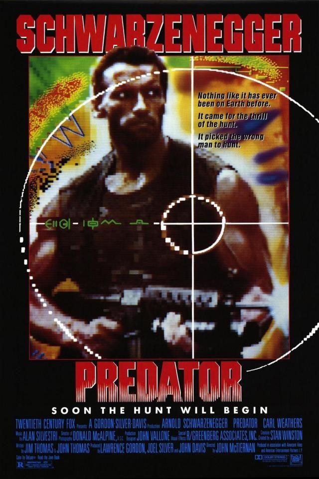 Shane Black Posteres De Filmes O Predador Filme E Predador