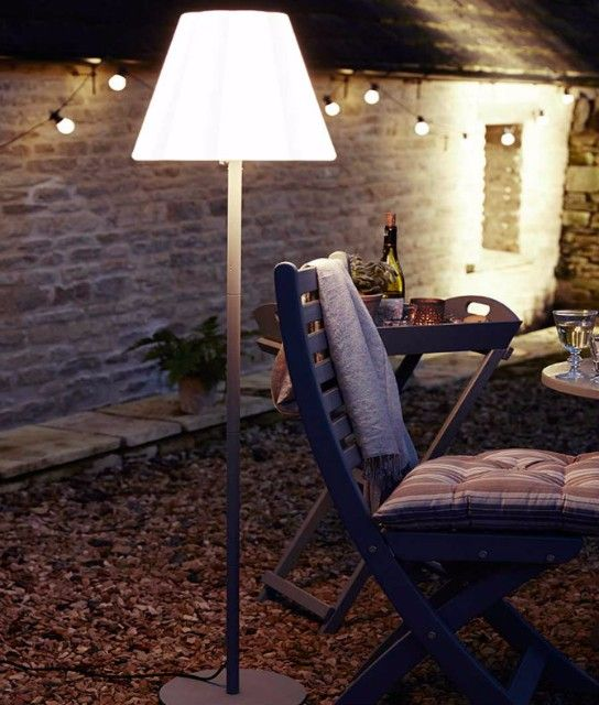 separation shoes 59624 50266 Outdoor Floor Lamps To Use In A Deck Or Patio | garden ...