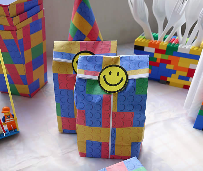 Lego Party Ideas - These lego party bags are really cool and you ...