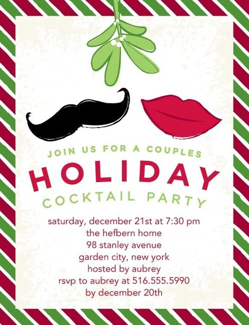 Get your invites for the Holidays out now! #holidayparty - holiday party invitation