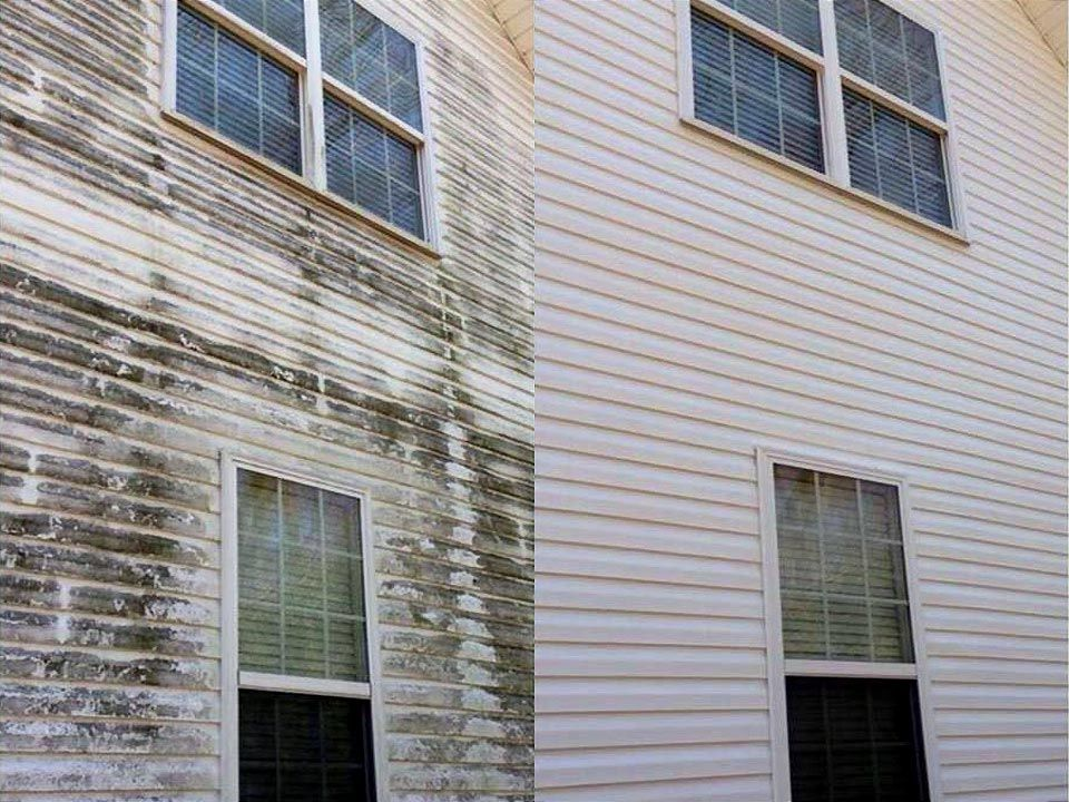 Soft Wash Low Pressure House Washing Service For Louisville Ky