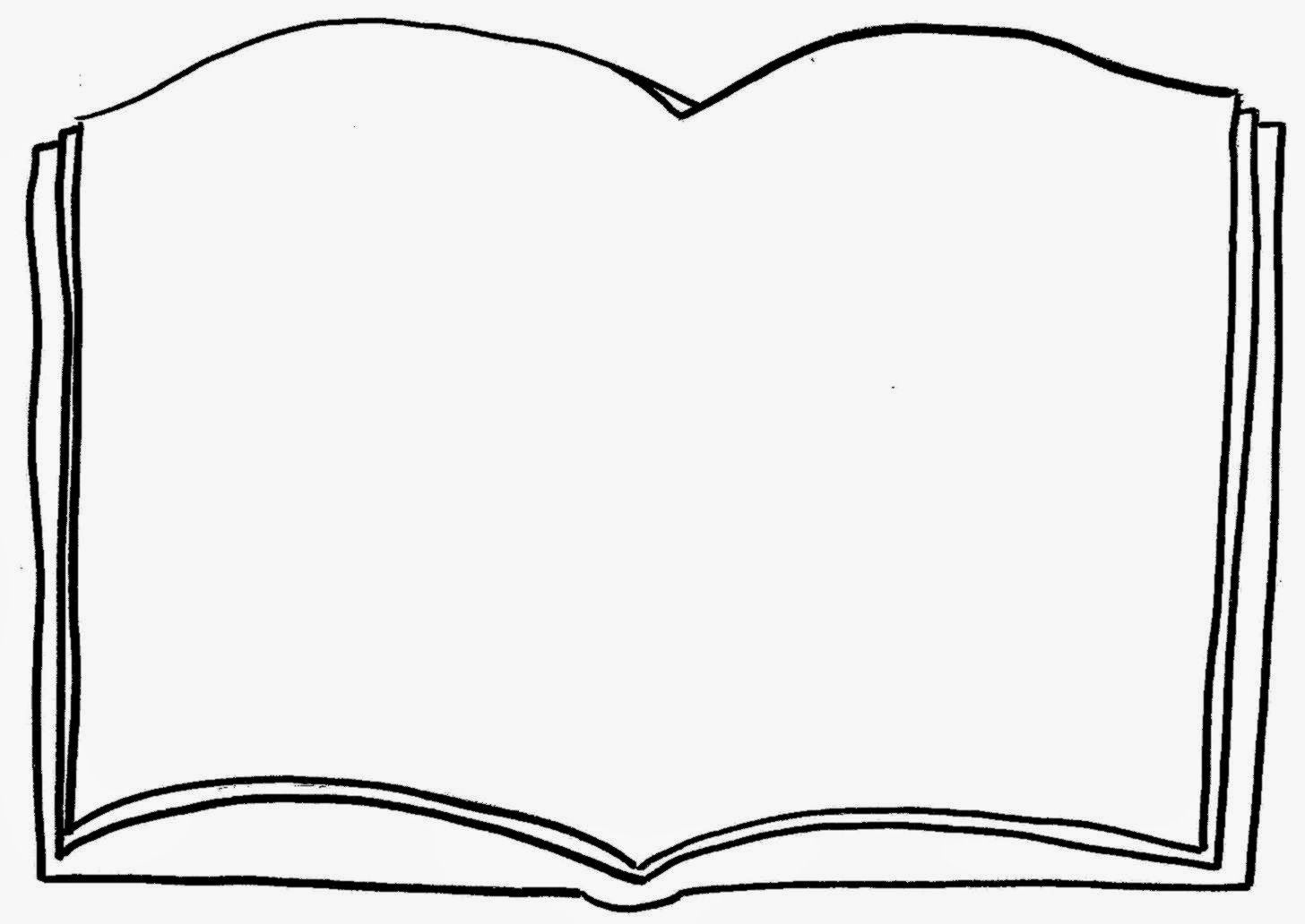 Open Book Coloring Page Free Coloring Pages Clip Art Coloring Books Coloring Pages Book Clip Art