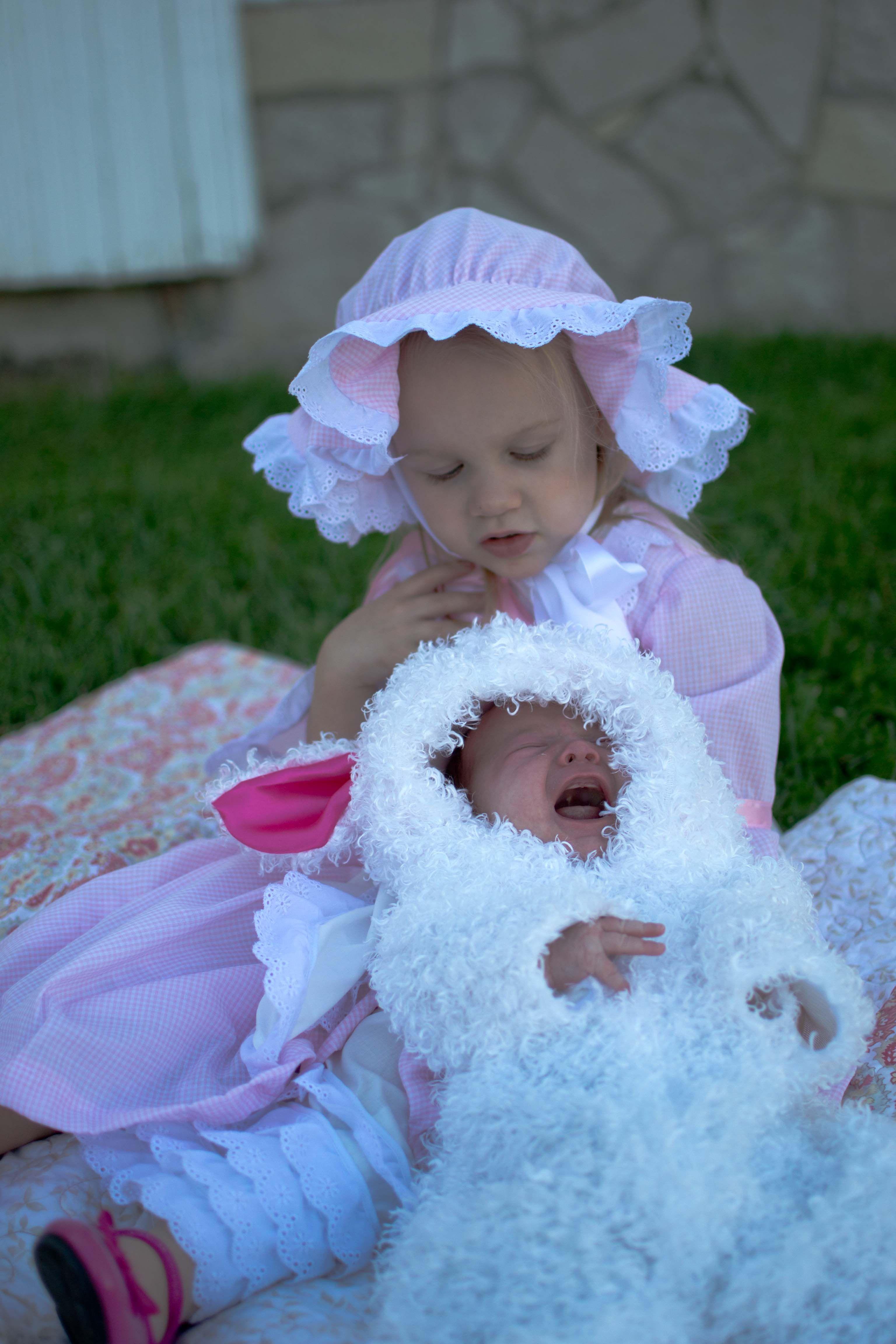 Bo Peep and her Sheep  sc 1 st  Pinterest & Bo Peep and her Sheep | Halloween costume | Pinterest | Halloween ...