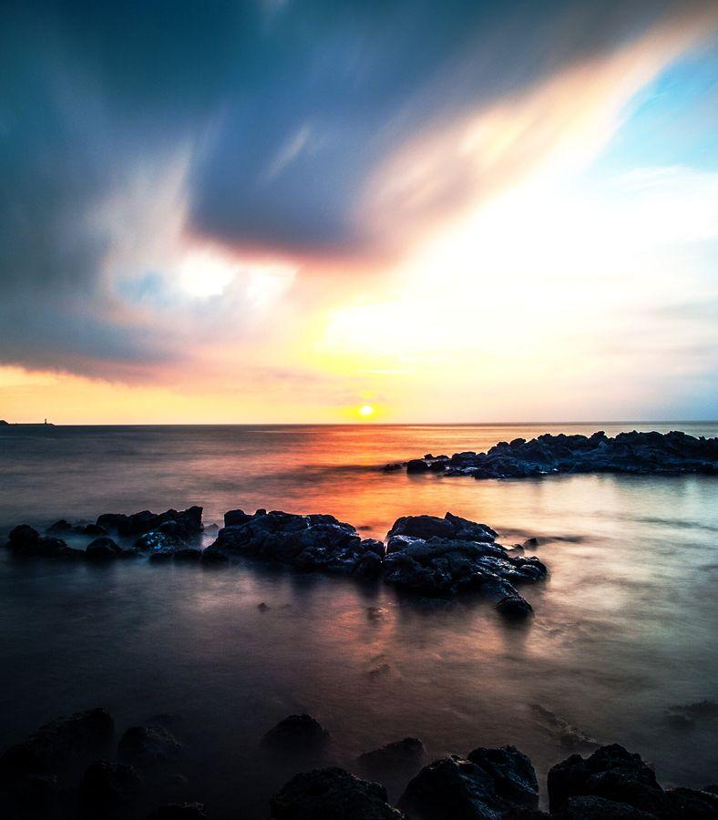 Jeju Island Beaches: Jeju Island, South Korea.