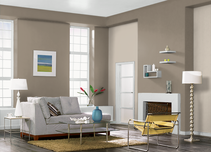 Behr creamy mushroom ethiopia colorspirations for Creamy grey paint color