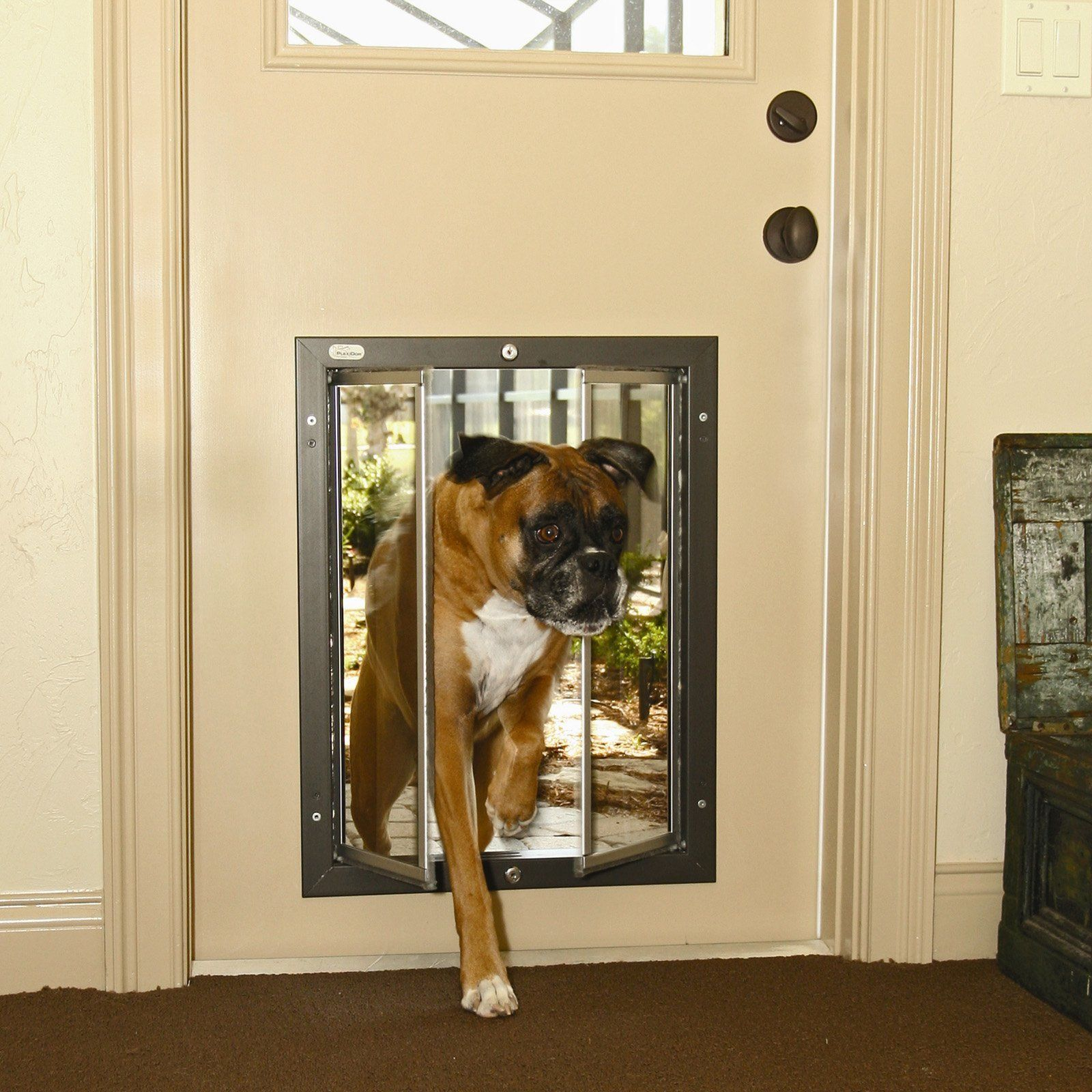 Watchdog Security Cover For Dog Doors Large Dog Door Dog Door Pet Doors