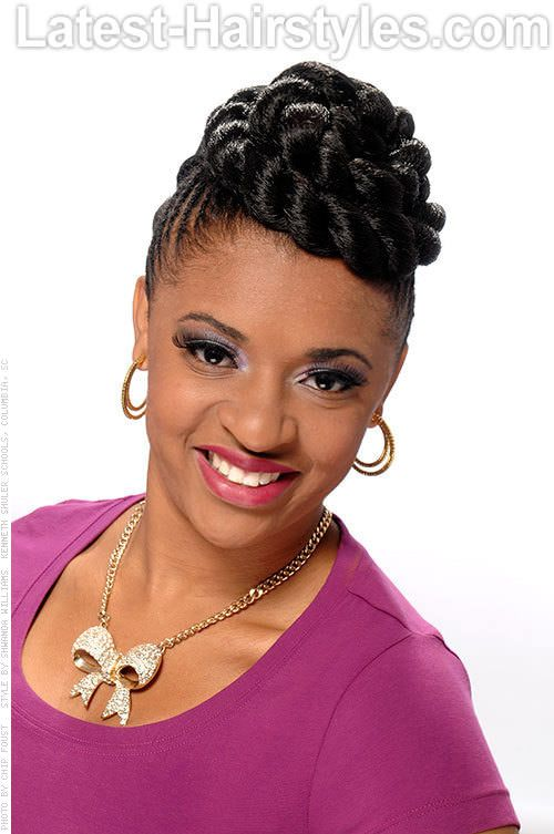 Phenomenal 1000 Images About Hairstyles On Pinterest Crochet Braids Sew Short Hairstyles For Black Women Fulllsitofus