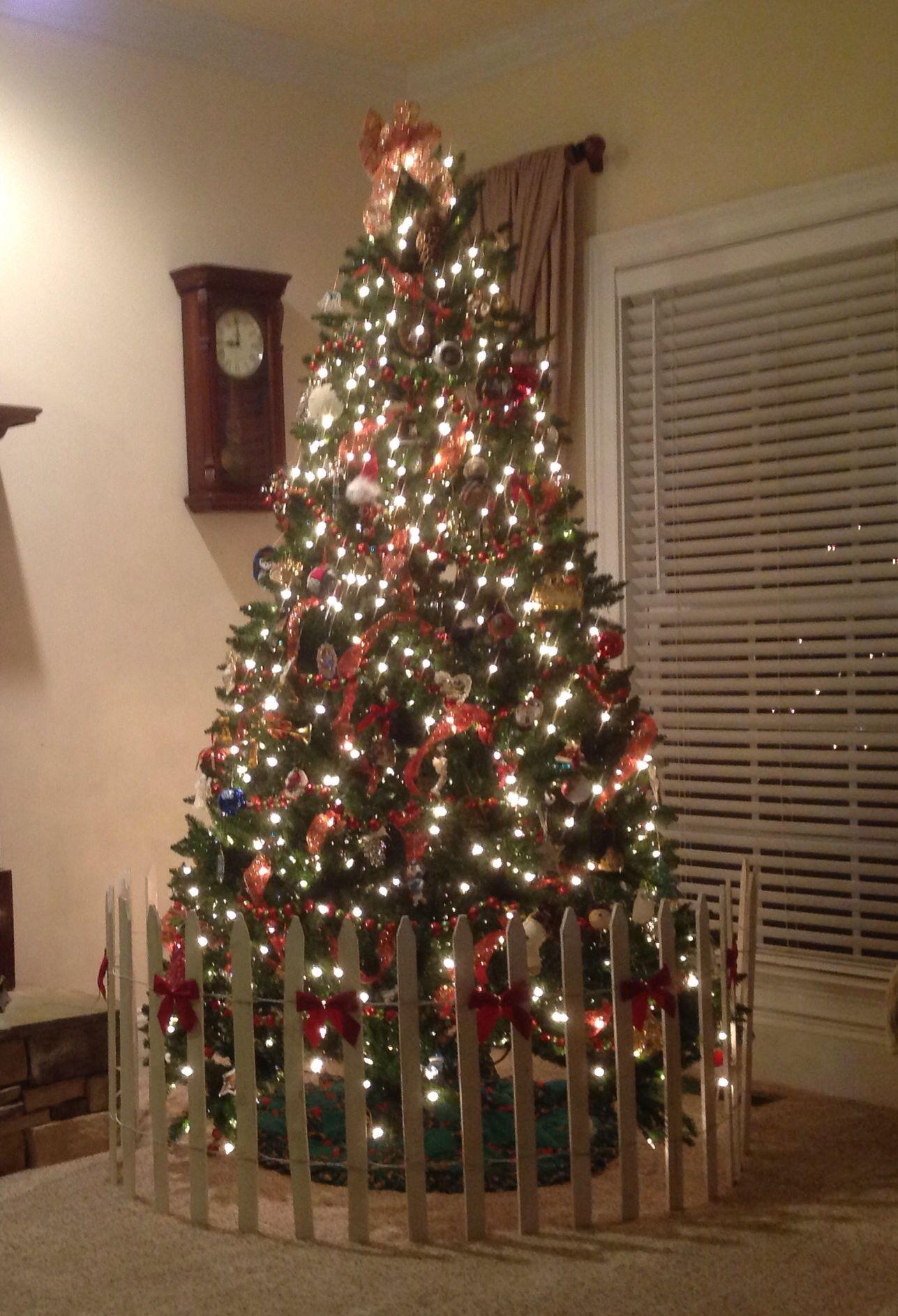 Dog Proof Your Christmas Tree Christmas Tree Gate Diy Christmas Tree Christmas Tree