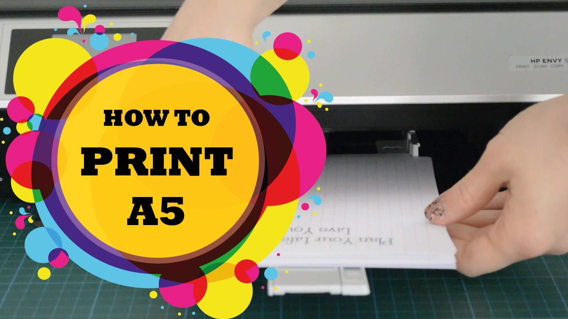 How To Print A5 Filofax Inserts Or Kikki K Planner Inserts