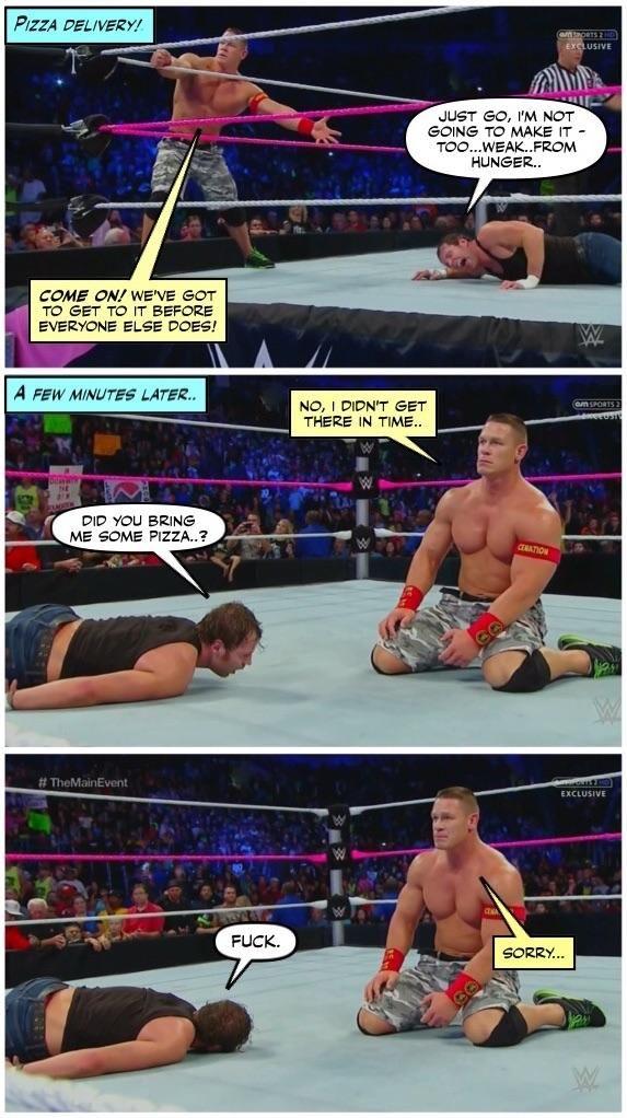 Credit Jenj Forever Ambrose Wwe Funny Wrestling Memes Wwe Pictures