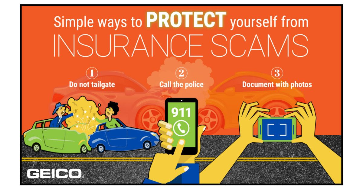 Geico reminds you of ways to help protect yourself from