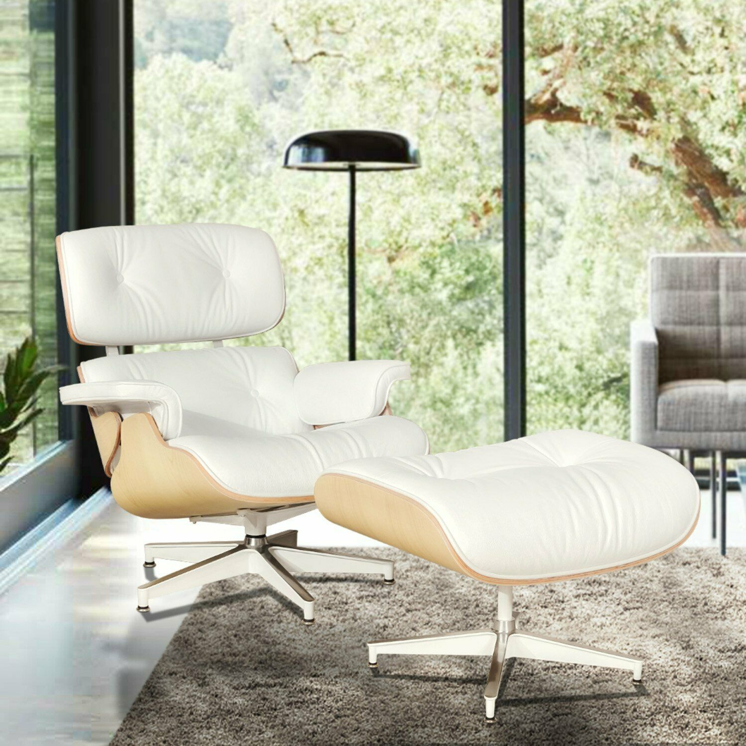 Premium Eames Lounge Chair And Ottoman