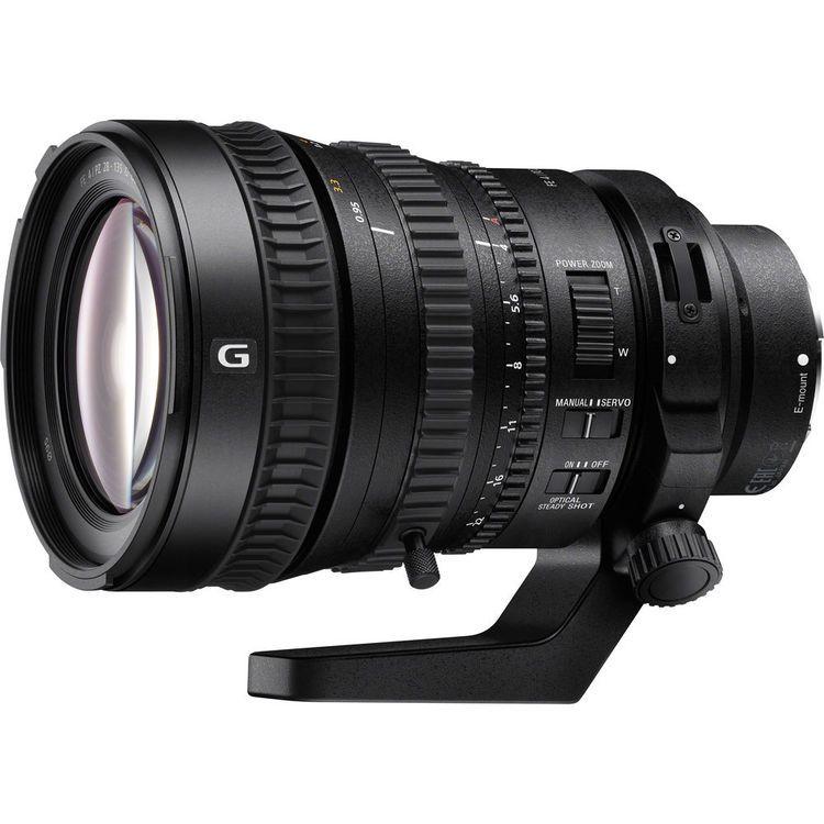 Sony Fe Pz 28 135mm F 4 0 Oss Servo Zoom Lens Review Zoom Objectif Sony Camera Photos