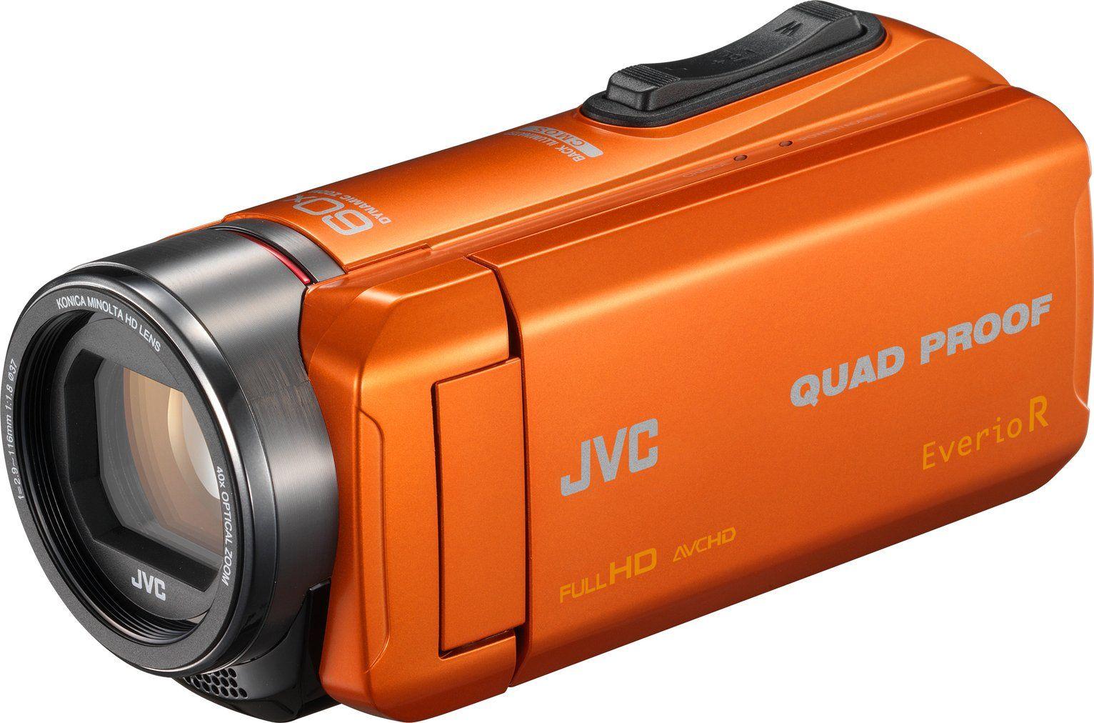 JVC GZ-R445D Full HD Camcorder - Orange