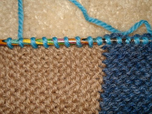 Picking Up Stitches Knitting Pinterest Stitch Tutorials And Craft