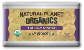 Natural Planet Organic Turkey Cat Food 12/5OZ