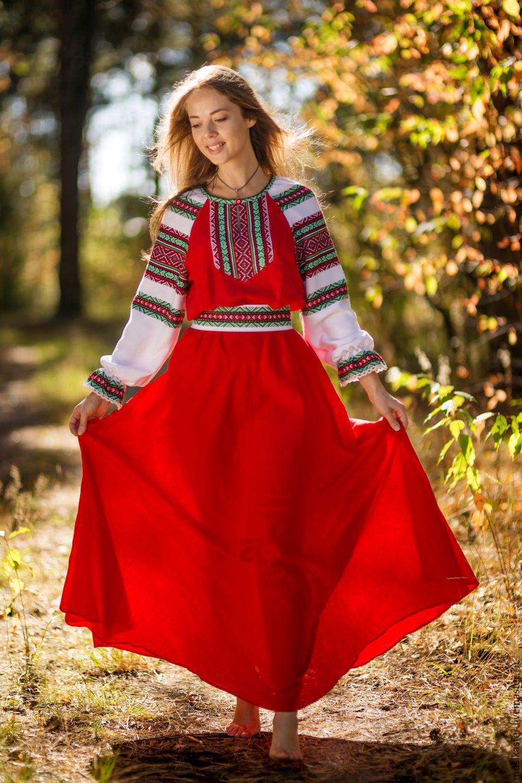 древнеславянская одежда фото женская проведи его