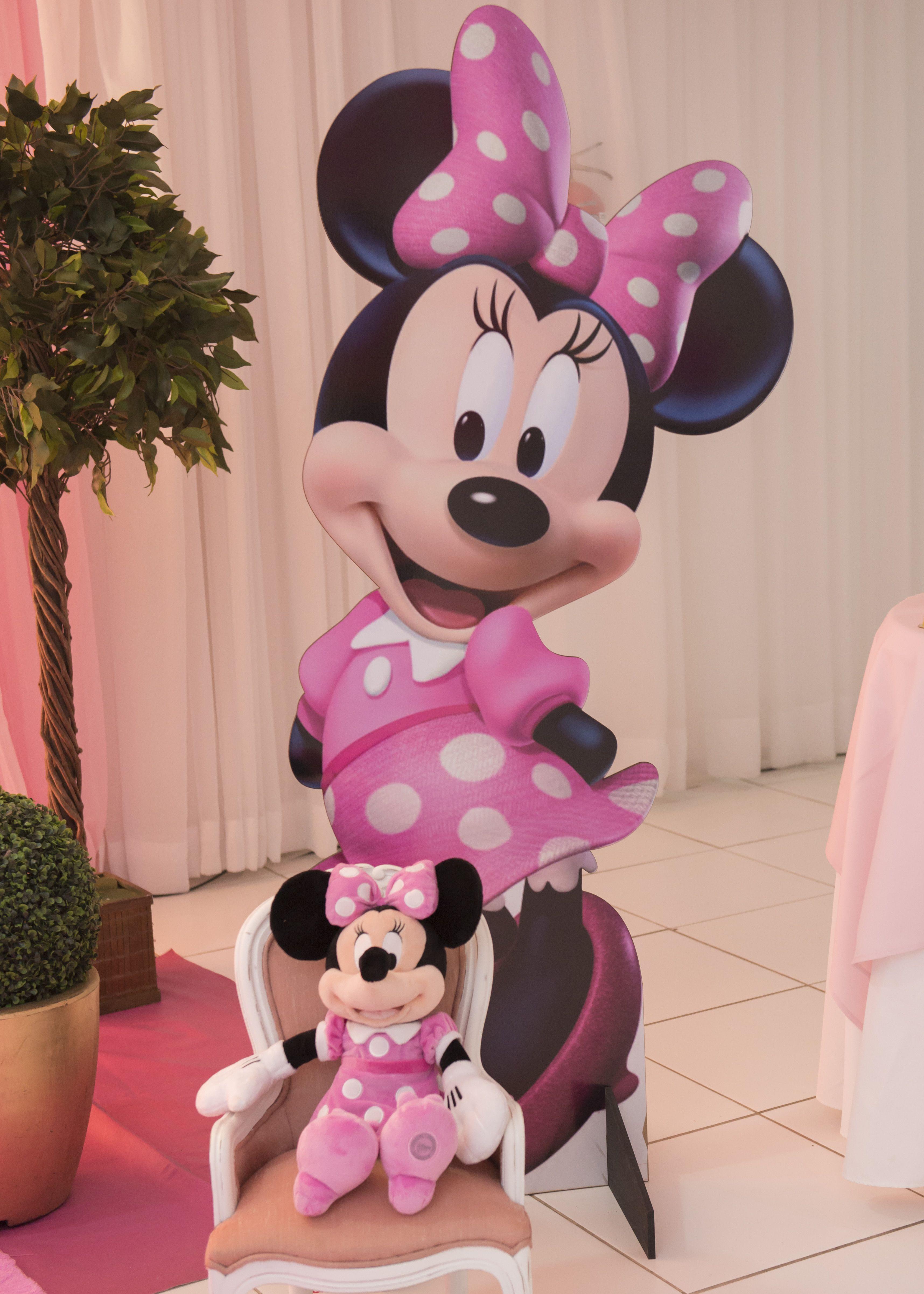 Tema de Festa Minnie Rosa Master Decorativa Festas Decoraç u00e3o de Festa Infantil em  -> Decoração De Eventos Florianopolis