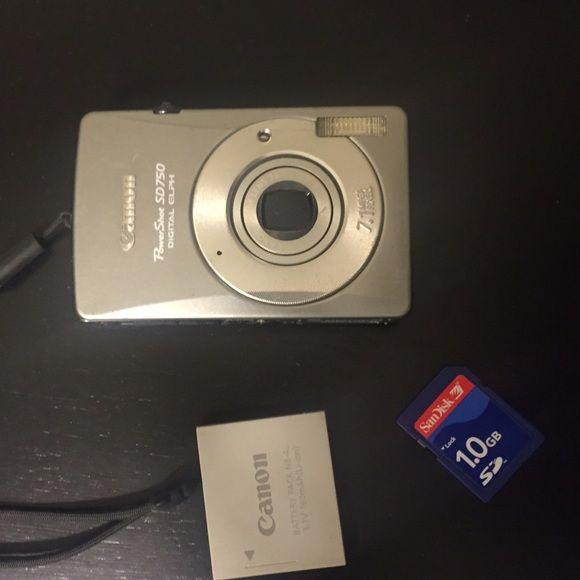 Canon Powershot Sd750 Powershot Canon Camera Canon Powershot