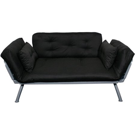 Mali Flex Lounger Black Cushions