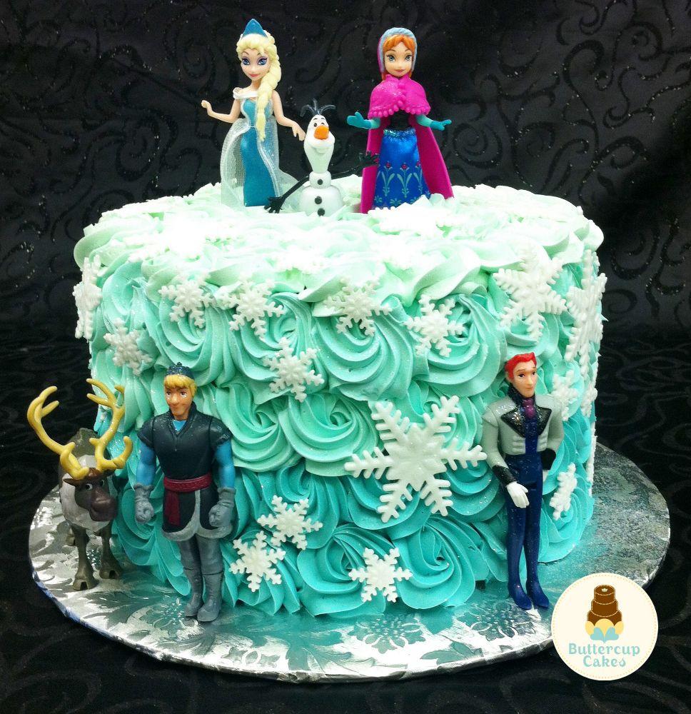 Frozen Birthday Cake Cartoon Character Cakes Pinterest