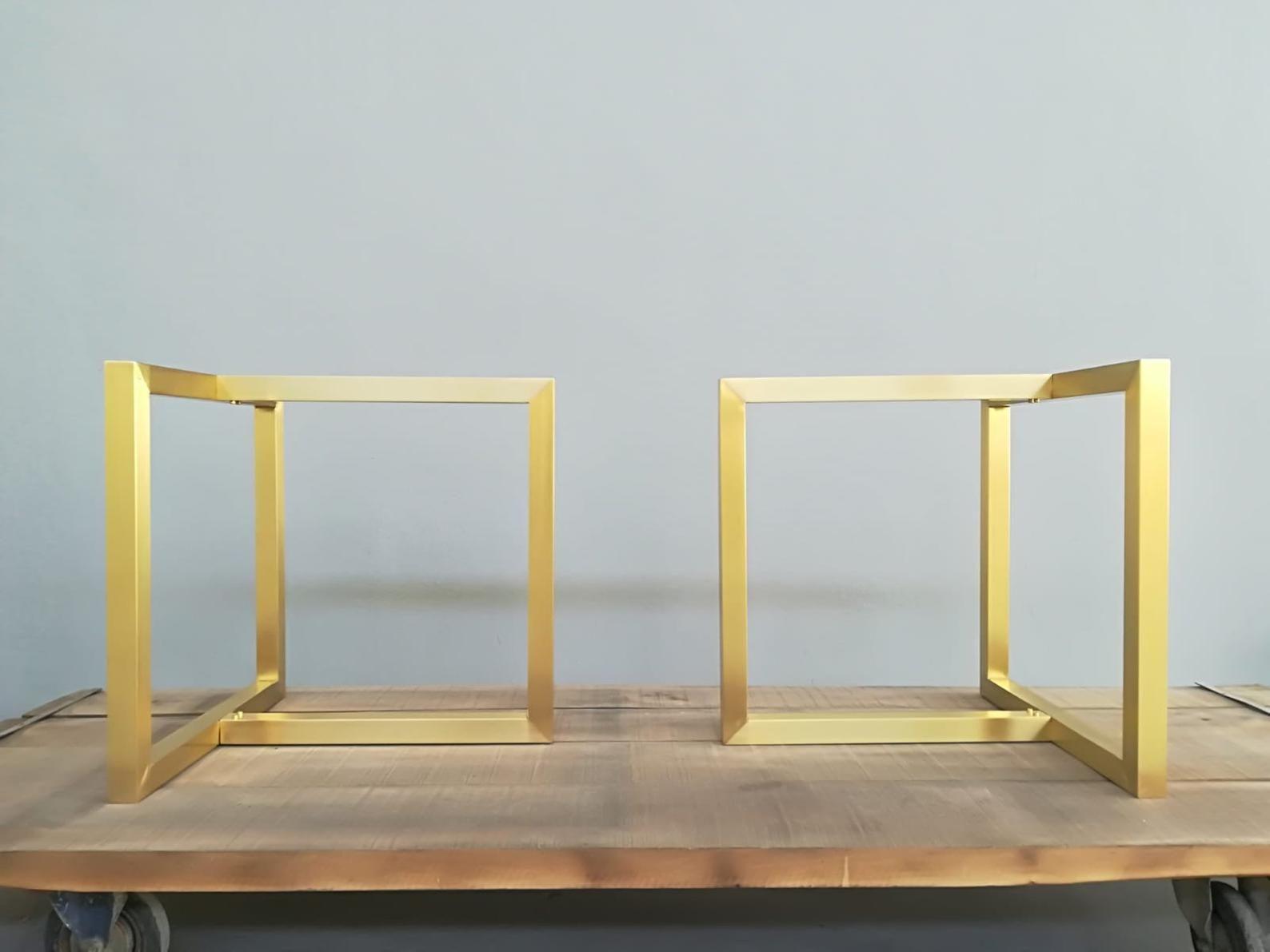 Modern Brass Dining Table Legs 28 X 35 X 26 Brass Table Trestle