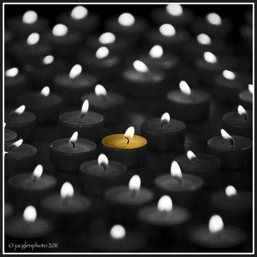 #black, #candles