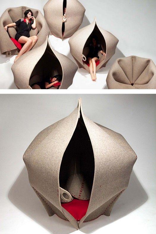Felt Bean Bag Chairs