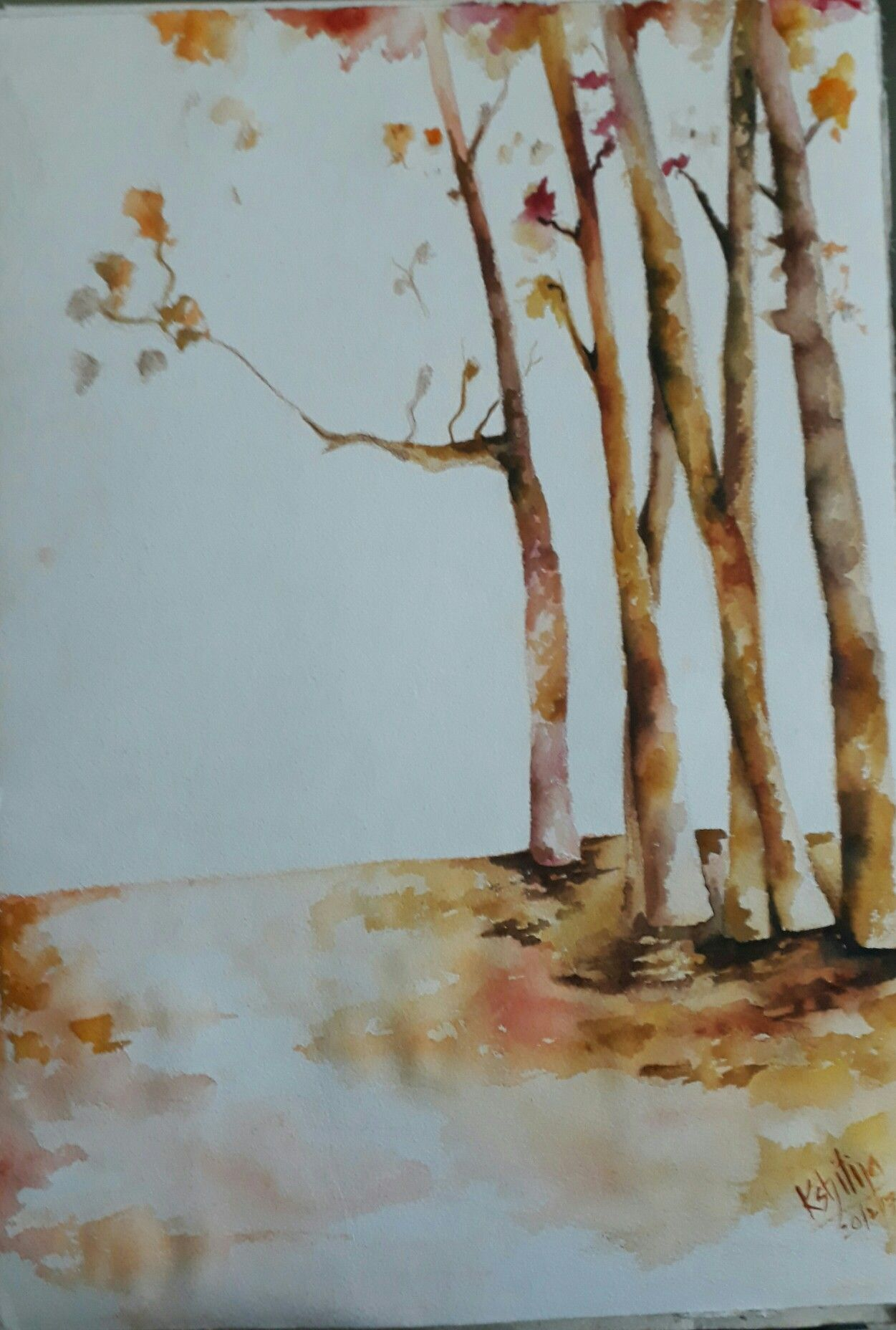 Watercolour by Kshitija Kalikar | kshitija | Pinterest | Watercolor
