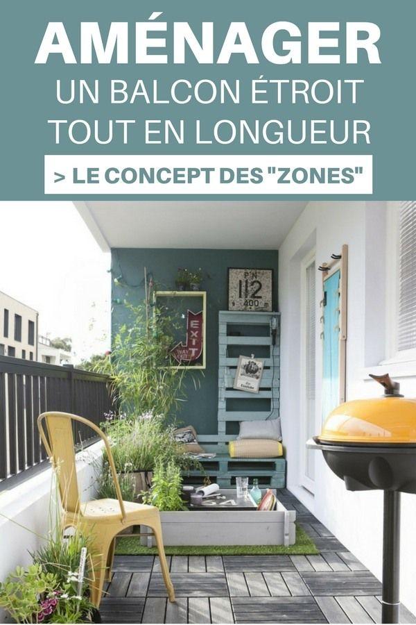 101 Idees Deco Amenagement Pour Un Petit Balcon Balcon Etroit