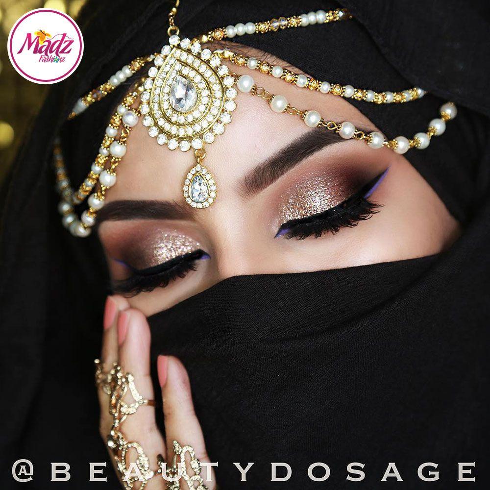 Indian Wedding Headdress: Indian Bridal Headpiece Hijab Jewelry Forehead Jewels