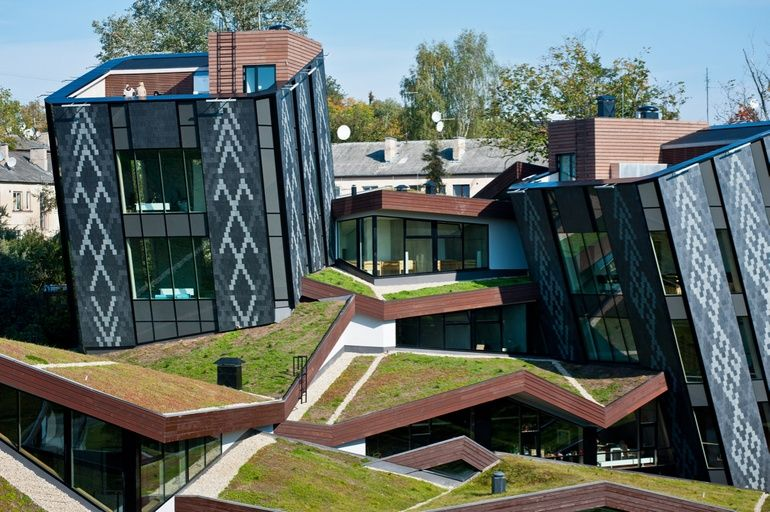 6 Futuristic Projects Sprouting Green Roofs Green Roof Green Roof Project Layout Architecture