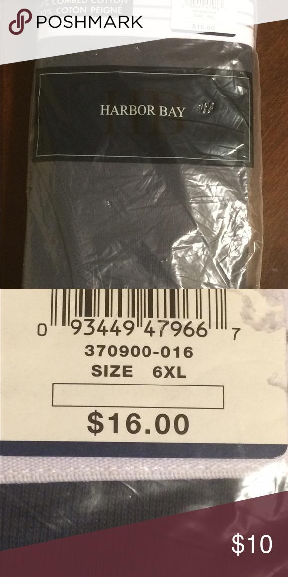 NWT Men's 6XL Briefs NWT Harbor Bay Casual Male Briefs 6XL 2 pack Harbor Bay Underwear & Socks Briefs