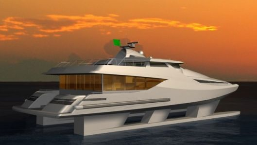 Stability 60 SWATH - the practical super yacht - Absolutely incredible innovations!