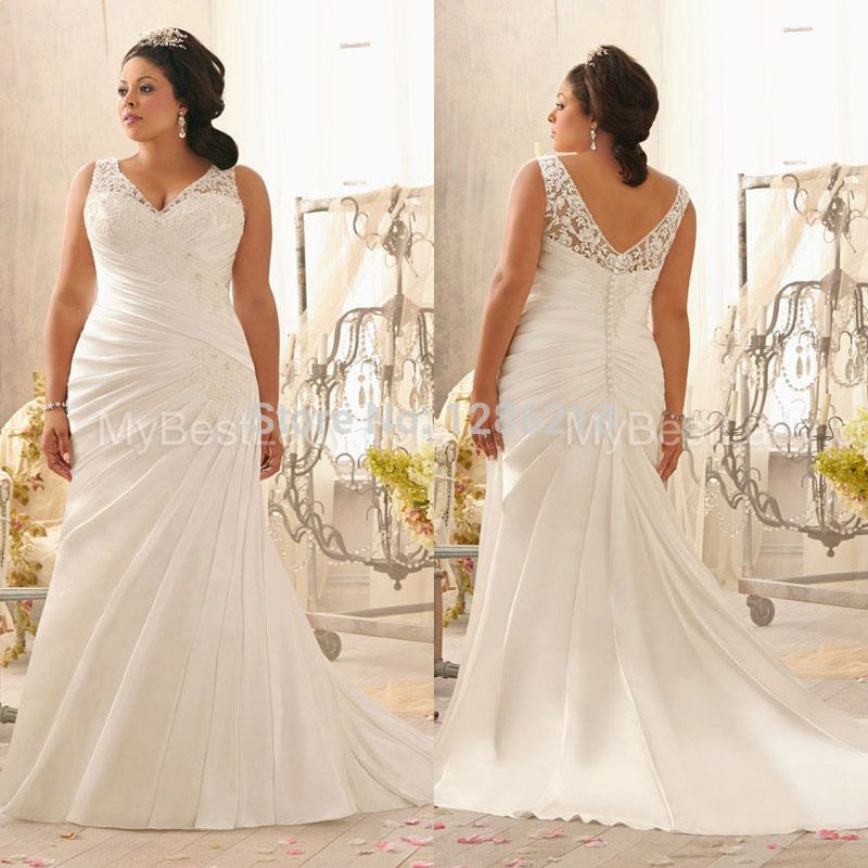 Large Wedding Dress Google Search