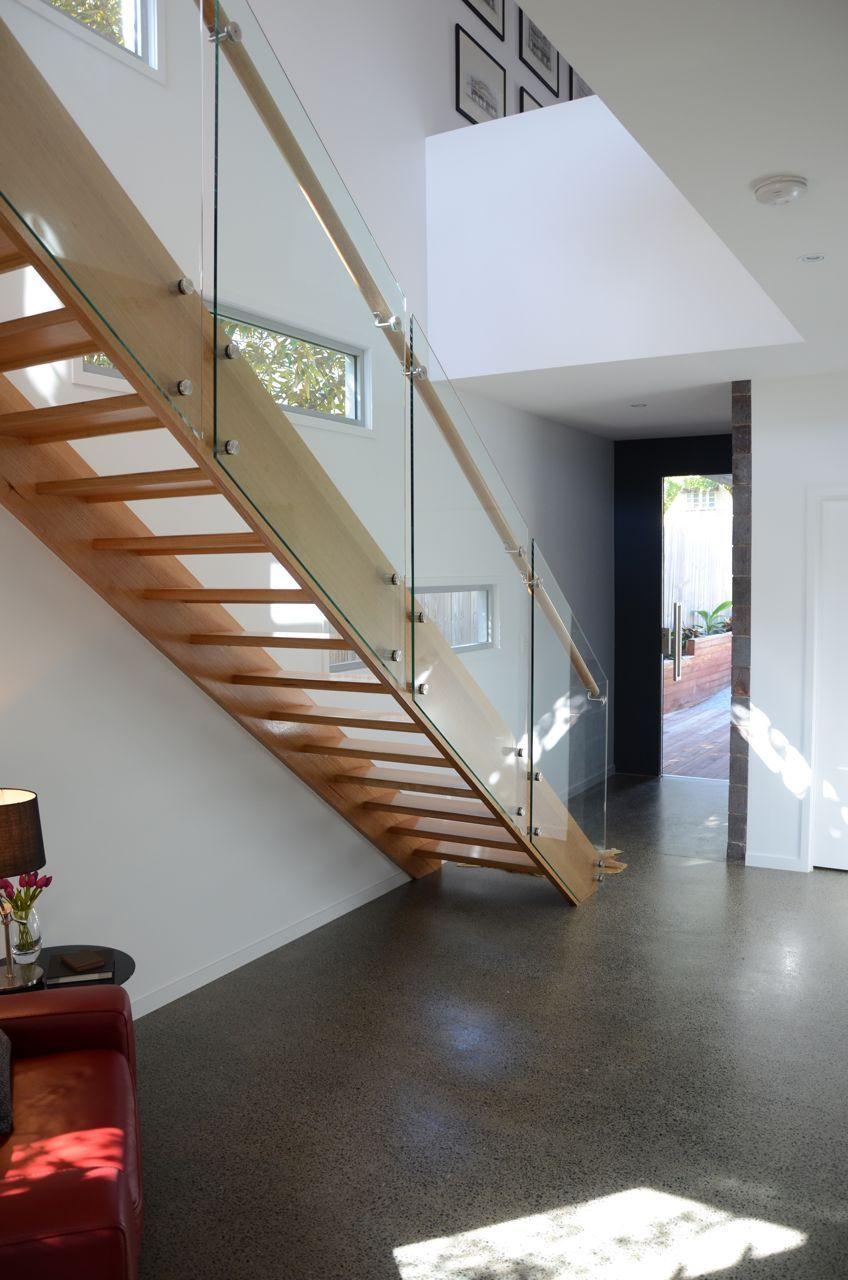 Foyer Stairs Qld : Hills house brisbane entry stair void stuff