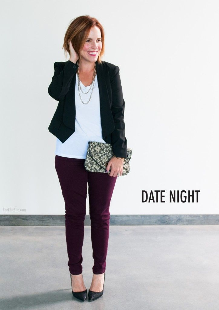 Cute fall date night outfits