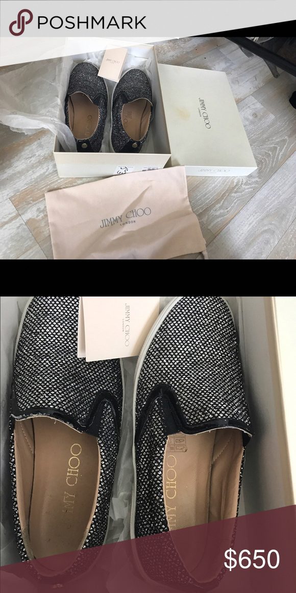 e46556913488 Jimmy choo flats Worn about 3 times. Like new! Jimmy Choo Shoes Flats    Loafers  JimmyChoo