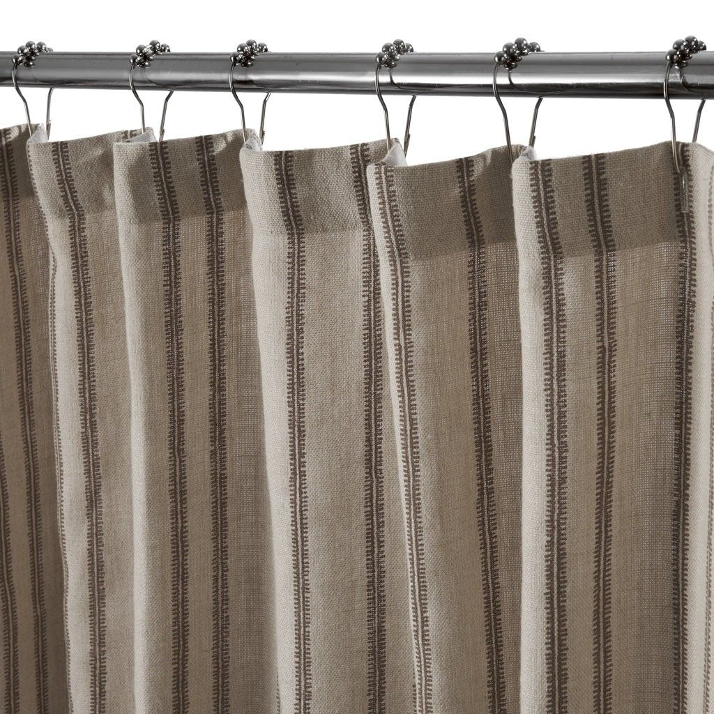 Salisbury Shower Curtain | Bath Linens | Shower Curtains | Waterworks
